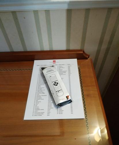 Telecomando tv hotel marconi milano
