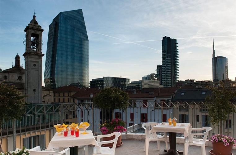 Terrazza hotel marconi milano