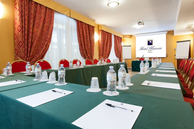 Sala riunioni hotel marconi milano