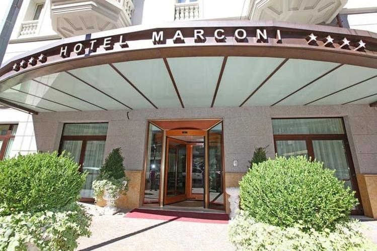 Facciata hotel marconi milano
