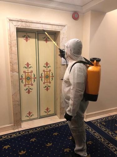 Sanificazione ozono spazi comuni hotel marconi milano
